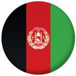 Afghanistan Country Flag 58mm Mirror